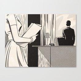 NOIR no.03 (SIR?) Canvas Print