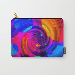 Re-Created Twisters No. 10 by Robert S. Lee Carry-All Pouch