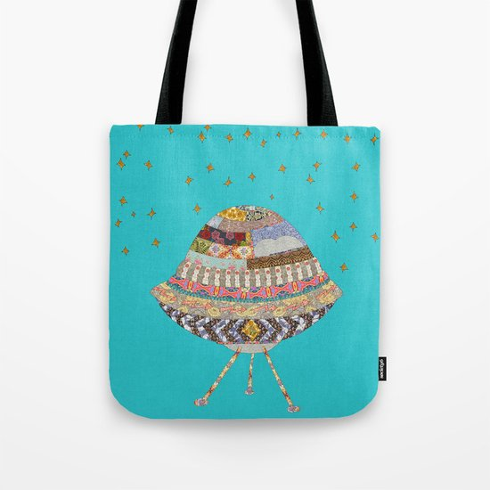 My Spaceship Will Come Tote Bag