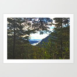 Window to Alaska Art Print