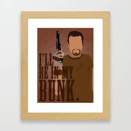 The Man They Call Jayne Framed Art Print