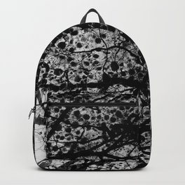 Entwined Branches And Marble Backpack