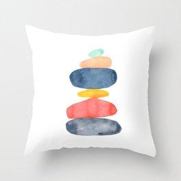 Zen Garden - I Throw Pillow