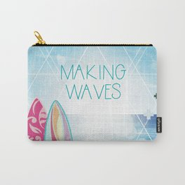 Making Waves - Sunset Carry-All Pouch