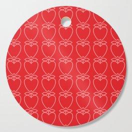 MCM Apple Red Cutting Board