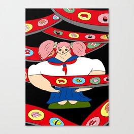 SUSHI GIRL | Takahashi-chan Canvas Print