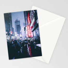 NYC Neon Winter Stationery Cards