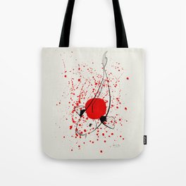 Bleeding Japan Tote Bag