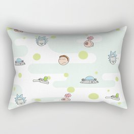 Rictsy Print Rectangular Pillow