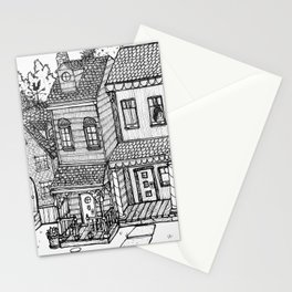 Row Houses Stationery Cards
