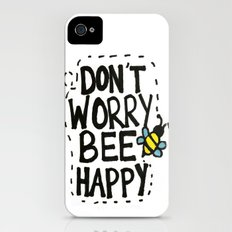 BEE Happy iPhone (4, 4s) Slim Case