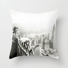 Ben on RCA Throw Pillow
