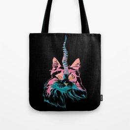 Fluffy Caticorn Tote Bag