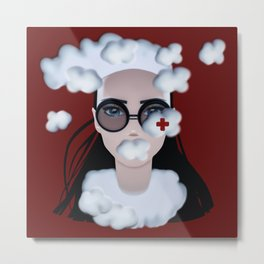 CUMULUS Give Me A Break Metal Print