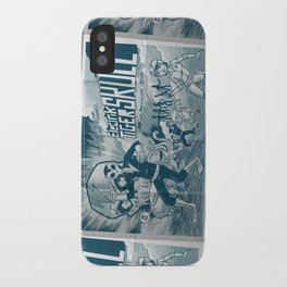 ELECTRIC TIGER SKULL! iPhone Case