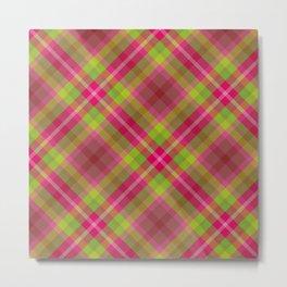 Scottish tartan #11 Metal Print