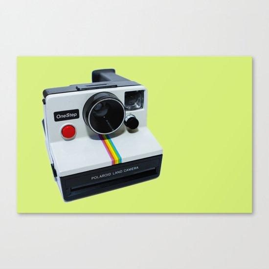 Polaroid OneStep Camera Canvas Print