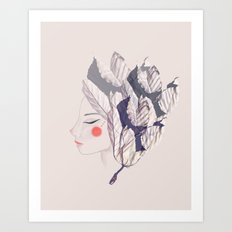 Miss Yagrumo Art Print