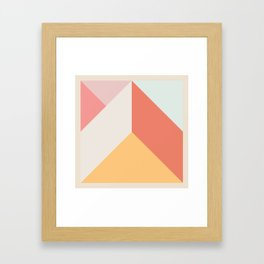 Ultra Geometric VII Framed Art Print