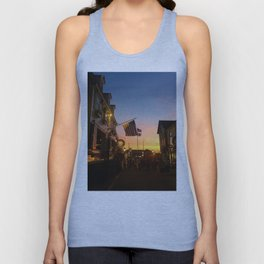 Clarke Cooke House at Sunset Unisex Tank Top