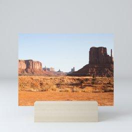 Monument Valley Mini Art Print