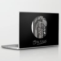 basquiat Laptop & iPad Skins featuring BASQUIAT // King Pleasure by HuffandFuff