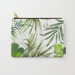Tropical Fronds Carry-All Pouch