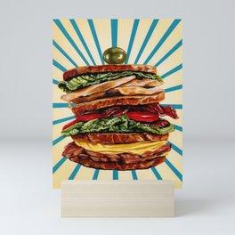 Sandwich Mini Art Print
