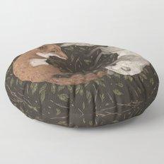 Foxes Floor Pillow