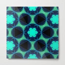 blue and angle Metal Print