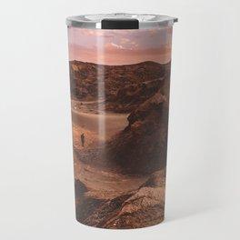 Sunset in Valle De La Luna, Chile Travel Mug