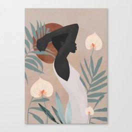 Tropical Girl 4 Canvas Print