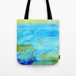 Mermaid Tears Watercolor Fantasy Tote Bag