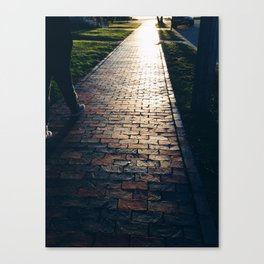 To The Western Promenade   Canvas Print