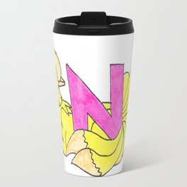 N is for Ninetails Travel Mug