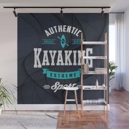 Kayaking Extreme Sport  Wall Mural