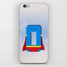 Zero the Hero iPhone & iPod Skin