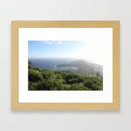 Koko Head, Oahu  Framed Art Print