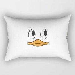 Shy Duck Rectangular Pillow