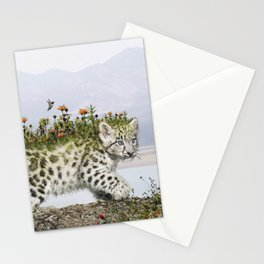 Flora Leopard Stationery Cards