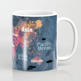 world map 115 #worldmap #map Coffee Mug