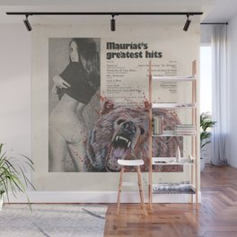 His Master's Voice - The Bear Wall Mural