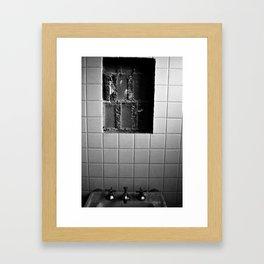 Leaked Framed Art Print