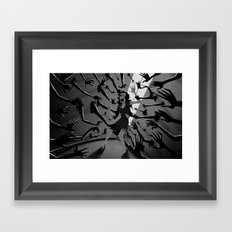 The Walls Close In Framed Art Print