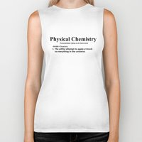 chemistry Biker Tanks featuring Physical chemistry by Rhodium Clothing