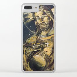I am the light of the world Clear iPhone Case