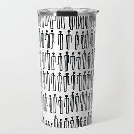 Paper Clip People Travel Mug