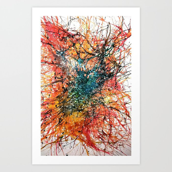 The Disruption Art Print