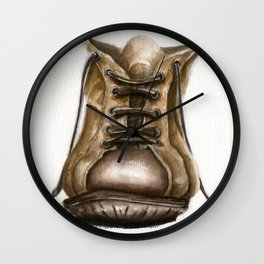 old boot Wall Clock