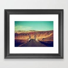 The Crossing Framed Art Print